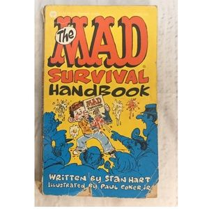The Mad Survival Handbook Stan Hart vintage book